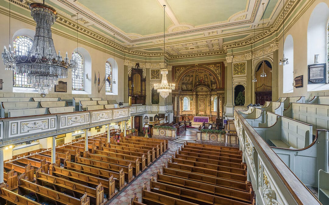 Growing popularity of 1662 prayer book services in a London church draws big congregations from across the capital