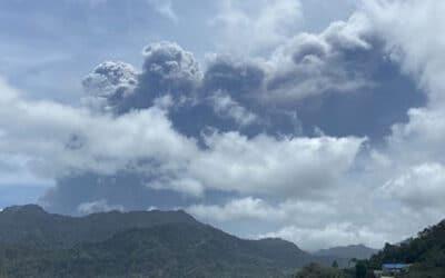 St Vincent Endures Volcanic Eruption and Explosions