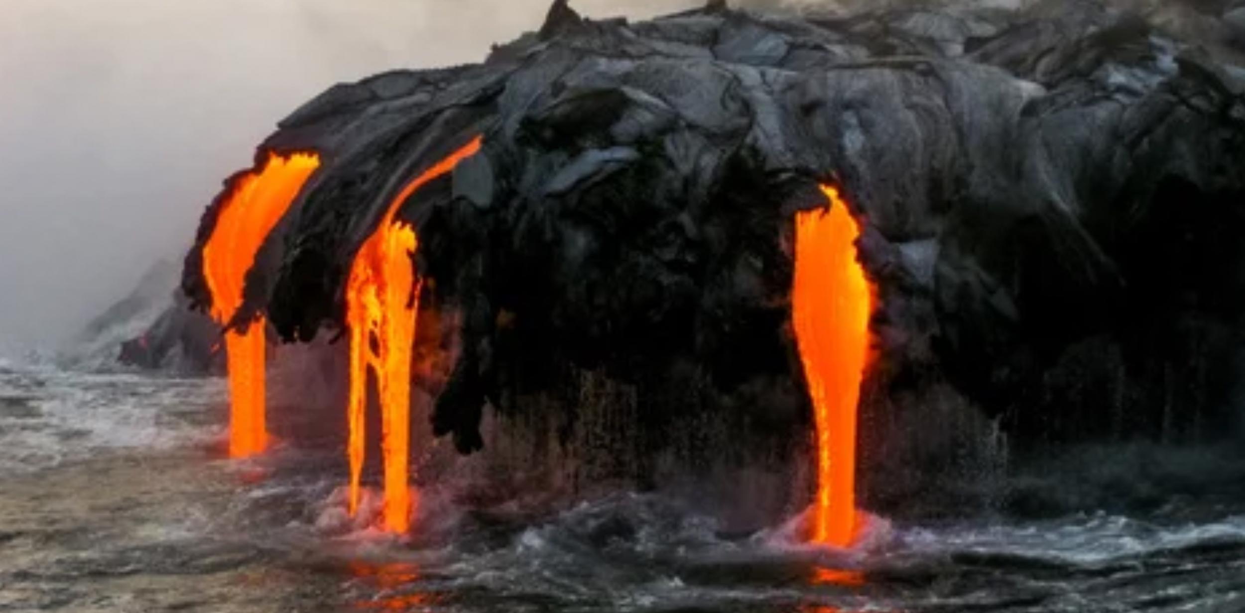 Volcanic Eruption in Congo