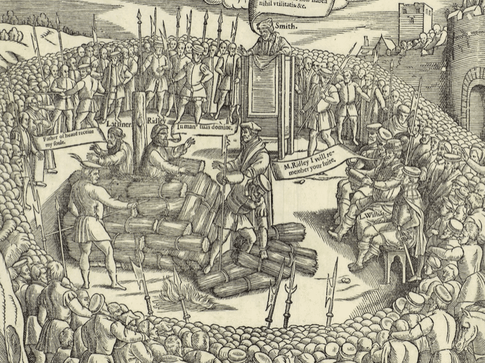466th Anniversary of the Martyrdoms of Latimer & Ridley
